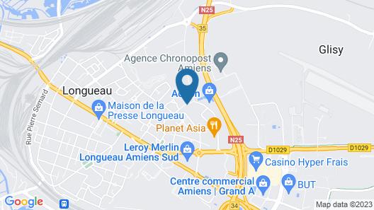 initial by balladins Amiens / Longueau Map