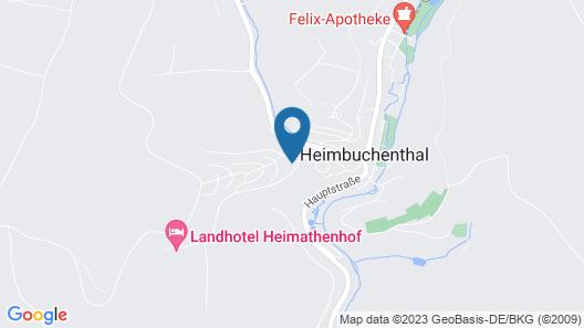 PANORAMA Hotel Heimbuchenthal Map