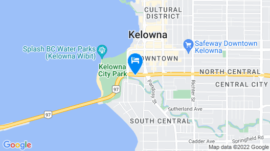 Samesun Kelowna Map