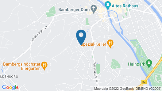 Hotel Altenburgblick Map