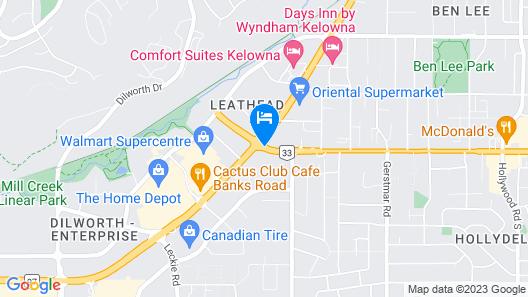 Okanagan Seasons Resort Map