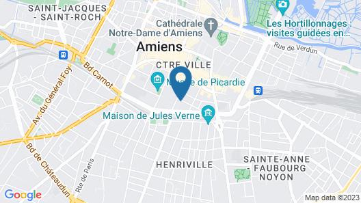 Une Maison en Ville chambres d'hôtes Map