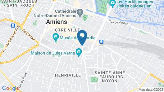 Hôtel Le Saint Louis Map