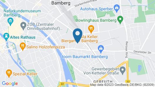 Am Brauerei-Dreieck Map