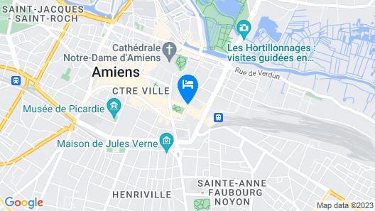 Hôtel de Normandie Map