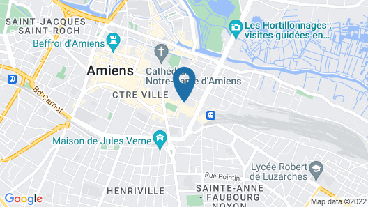ibis Styles Amiens Centre Map