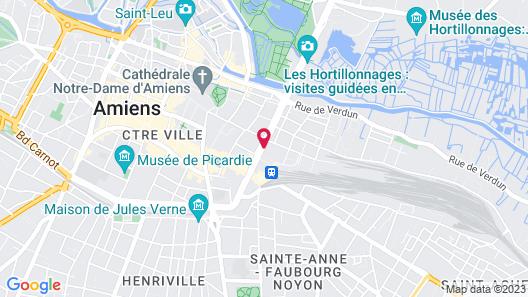 Holiday Inn Express Amiens Map