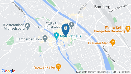 Hotel Le Baldinger Map