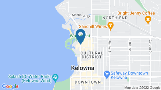The Royal Kelowna Map
