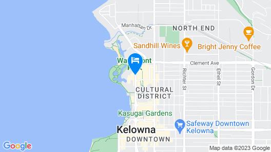 The Royal Kelowna Map