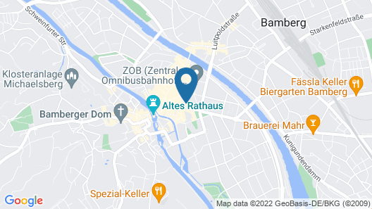Ibis Styles Bamberg Hotel Map