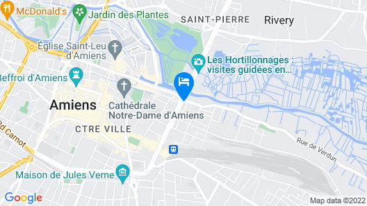 Appart'City Amiens Gare Cathédrale Map