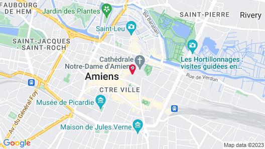 Hôtel le Prieuré Map