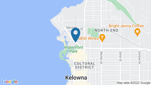 Sunset Waterfront Resort by DKRA Map