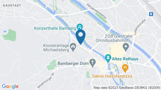 Welcome Hotel Residenzschloss Bamberg Map