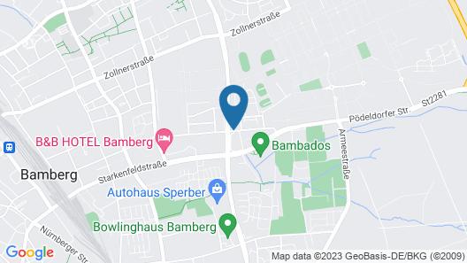 Hotel Berliner Ring Map