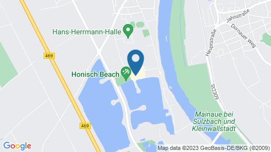 Seehotel Niedernberg - Das Dorf am See Map