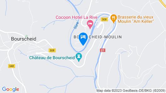 Cocoon Hotel Belair Map