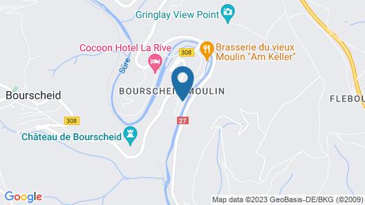 Hotel Du Moulin Map