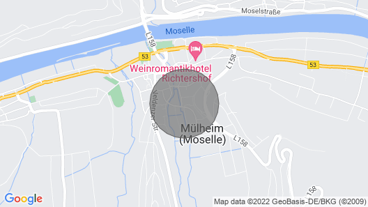 Large Apartment in the Heart of the Middle Moselle Map