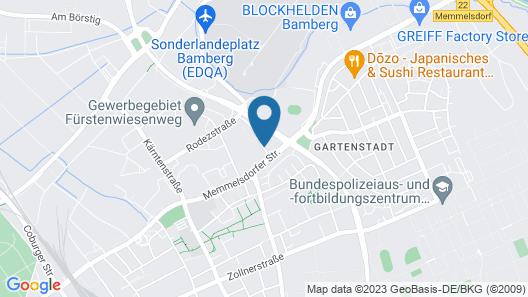 Center Hotel Main Franken Bamberg Map