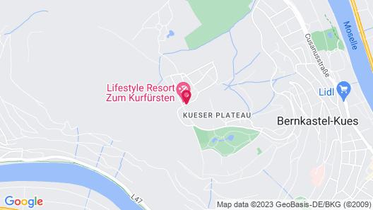 LIFESTYLE Resort Zum Kurfürsten Map
