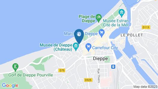 Mercure Dieppe La Présidence Map