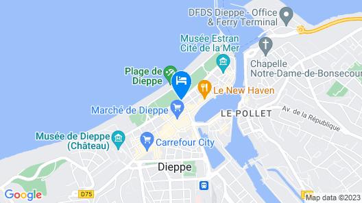 Hotel Aguado Map