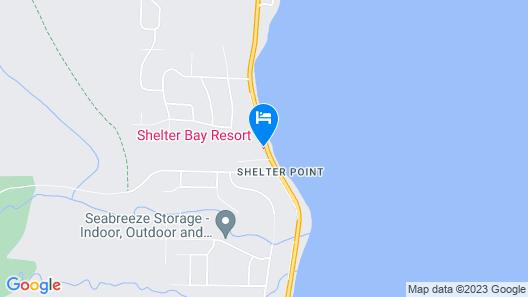 Shelter Bay Resort Map