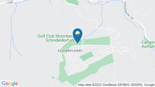 Land  & Golf Hotel Stromberg Map