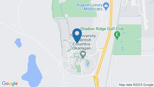 University of British Columbia - UBC Okanagan Campus Map