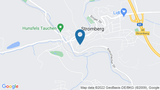 Stromburg Map
