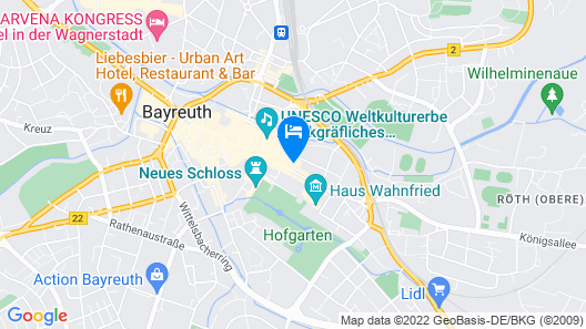 B&B Hotel Bayreuth Map