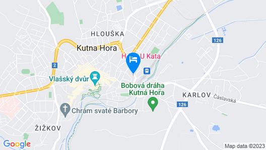 Hotel U Kata Map