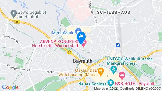 Arvena Kongress Map