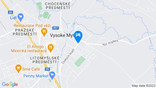 Lydiavi Apartments Map