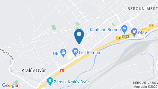 Apartment 3kk De Luxe Map
