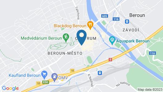 Hotel Grand Litava Beroun Map