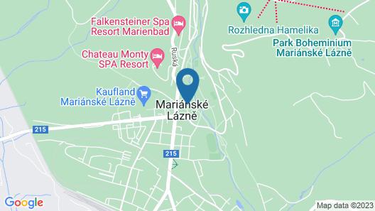 Apartment Wagner in Mariánské Lázn? - 2 Persons, 1 Bedrooms Map
