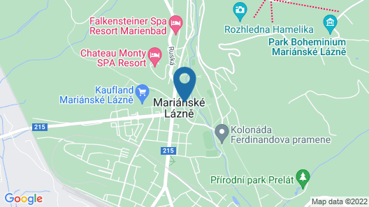 Apartment Edison in Mariánské Lázn? - 2 Persons, 1 Bedrooms Map
