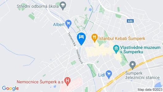 Hotel Pod Radnicí Map