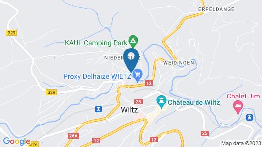 Aux Tanneries de Wiltz Map