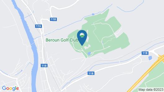 Hotel Beroun Golf Club Map