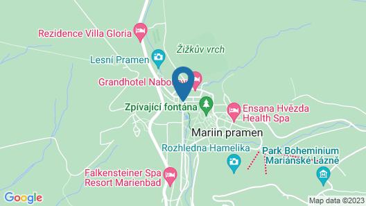 Orea Spa Hotel Palace Zvon Map