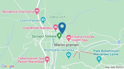 Apartment Kolonáda in Mariánské Lázn? - 2 Persons, 1 Bedrooms Map