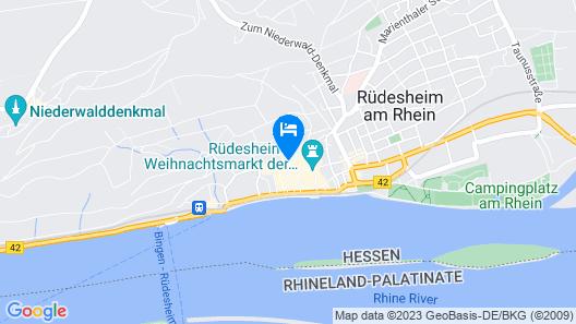 Hotel Felsenkeller Map