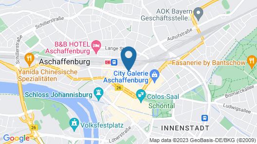 ibis Styles Aschaffenburg Map