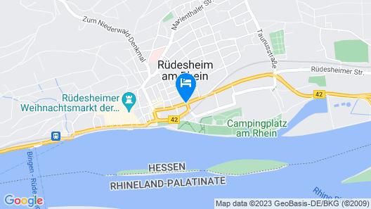 Rheinhotel Rüdesheim Map