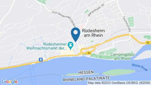 Hotel Höhn Map