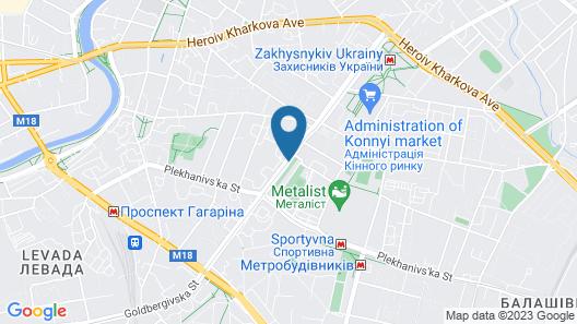 Kiroff Hotel Map